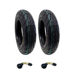 SET OF TWO: Scooter Tubeless Tire 3.50-10 For Adly Bintelli