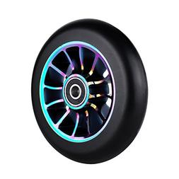 110mm Single 1 Pro Scooter Wheel with Abec 9 Bearings Fit fo
