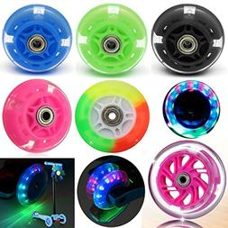 Single LED Flash Light Up Wheel for Mini Micro Scooter with