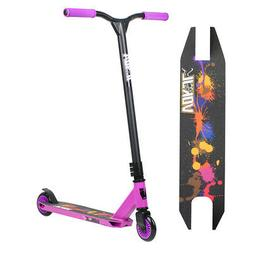 Vokul 2 Wheels Outdoor Ride Kick Scooter Purple Gift For Kid