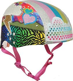 Raskullz Sparklez Loud Cloud Bike Helmet, Youth