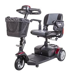 Drive Medical Spitfire Ex Travel 3-Wheel Mobility Scooter, 1