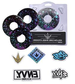 Envy Splatter Wheel Sticker Pack