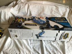 Fuzion Sport 4 Wheel Carving Scooter New In Box Blue Wide De