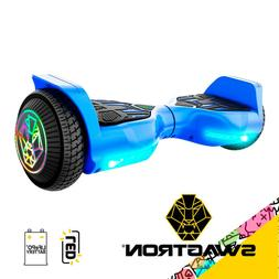 """Swagboard Twist T580 Hoverboard w/ Light-up 6.5"""" LED Wheel"""
