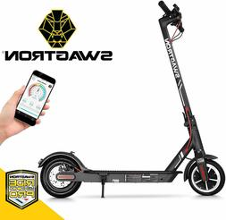 Open Box Swagtron High Speed Electric Scooter Cruise Control