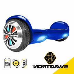 Swagtron T882 BBY LED Hoverboard Light-Up Wheels for Kids &