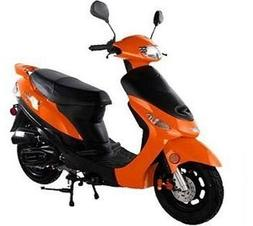 Taotao ATM50A1 50cc Scooter Orange