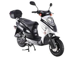 TaoTao CY50-A Fully Automatic 49cc Gas Scooter Moped w/ 10 I