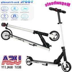 Megawheels Teen's Foldable Electric Scooter Aluminum Portabl