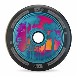 Lucky TFox Signature Hollow Core Scooter Wheel , Blue, 110MM