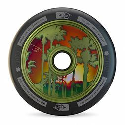 Lucky TFox Signature Hollow Core Scooter Wheel , Guac Green,