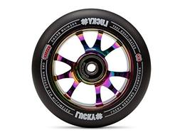 Lucky Scooter Toaster Pro Scooter Wheel , NeoChrome/Black, 1