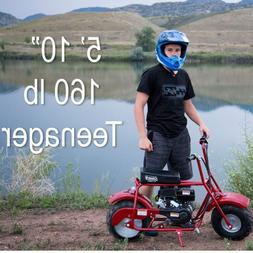Trail Bike 98cc/3.0HP For Teens Off-Road Buggy Gas Powered A