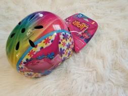 Troll Poppy Child Helmet Age 5-8 Adjustable Shell Safety Bik