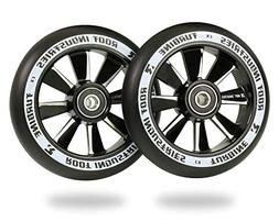 Root Industries 110mm Turbine Wheels - Black Urethane
