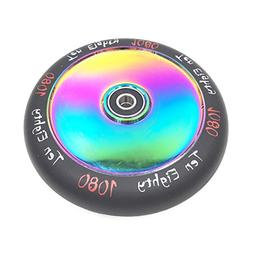 Ten-Eighty Ultra 120mm Solid Stunt Scooter Wheel - Rainbow N