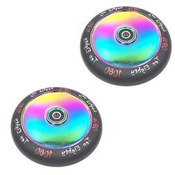 Ten-Eighty Ultra 120mm Solid Stunt Scooter Wheels  - Rainbow