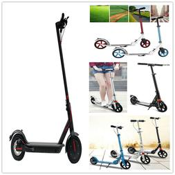 Unisex Teen Adjustable Electric Folding Scooter or non-elect