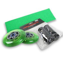 Upgrade Pack for Razor Scooter Green Wheels, Handle Grips, G