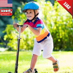 US Folding Kids Scooter for Age 4-12 Adjustable Scooters Gir