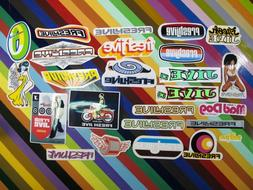 vtg 1990s Freshjive skateboards sticker - Clothing, Raves, S