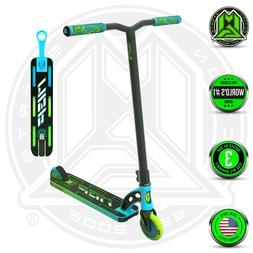 Madd Gear VX9 Pro Complete Stunt Scooter - Blue and Green