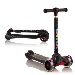 XJD Kick Scooters for Kids 3 Wheel Lean to Steer Folding Tod