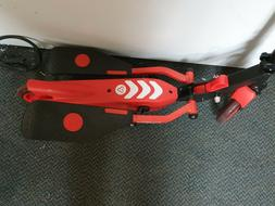 Yvolution Y Flyer Stepper Scooter Red Ages 7 and up