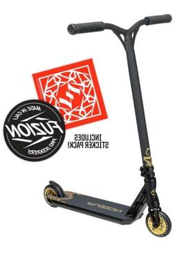 Fuzion Z350 Pro Scooter Complete - Black/Gold