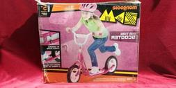 Mongoose ZAM Scooter, 12-inch wheels, ages 5 and up, PINK, A